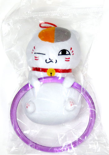 Platz Natsume friends book nyanko-Sensei plush Towel Hanger