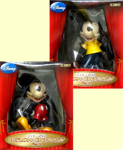 All two kinds of Disney mickey mouse PM history collection figure skating Vol.2 sets