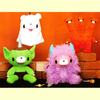 Chax GP gloomy Instrumentation Group ~ MI ~ plush (6 times of the Halloween holiday season aim ver.) set of 4
