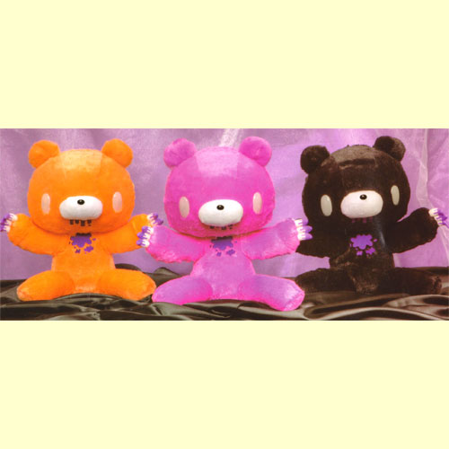 Chax GP gloomy XL seat guru ~ MI ~ plush ( holler tone and glow in the dark ver.) all three set