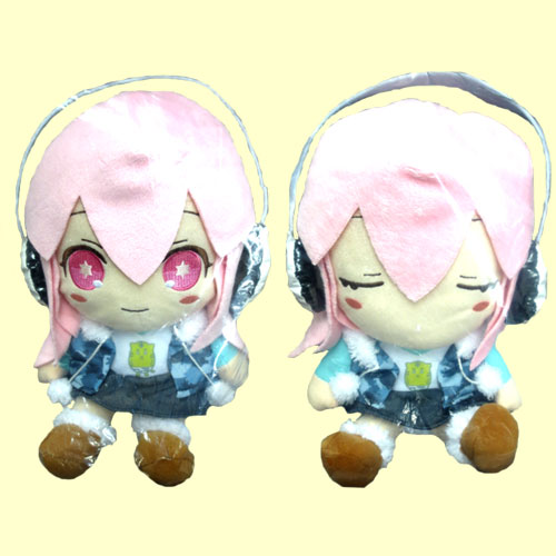 SUPER SONICO PA its the child dancing plush set of 2