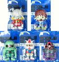 バンプレスト ガンダムシリーズ ソフビフィギュア1 インブリスター 全5種セット【新商品】
