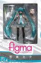 【キャラホビ2008先行販売品】 マックスファクトリー figma 014 Character Vocal Series01 初音ミク PVC製可動フィギュア