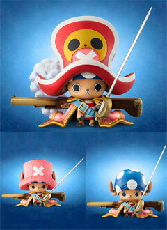 "Mega how Sue habit Lent model ONE PIECE- one piece - P.O.P portrait of Pirates ""EDITION-Z"" Tony Tony chopper PVC finished product"