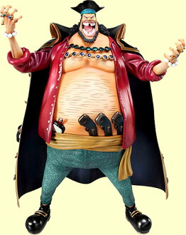 Megahouse excellent model ONE PIECE-one piece - P.O.P portrait-of-pirates neo-DX black beard Marshall, D-teach PVC
