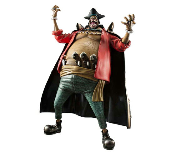 "Megahouse excellent model ONEPIECE P.O.P portrait and of pirates neo-ex ""Blackbeard"" Marshall D teach Ver.1.5 PVC finished products"