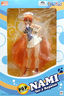 Megahouse excellent model LIMITED ONEPIECE P.O.P portrait of pirates NAMI Ver.2 repaint PVC