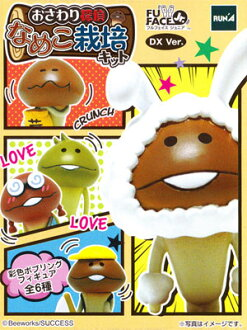 All six kinds of ラナフルフェイスジュニア jar detective なめこ cultivation kit DX Vol.2 sets