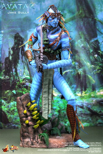 Hot toys movie masterpiece AVATAR - avatar - Jake-Sally 1 / 6 scale figure
