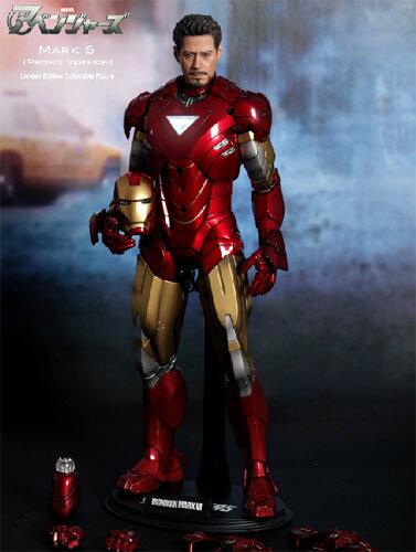 """6 (プロモ version) HOT TOYS hot toys movie masterpiece """"アベンジャーズ"""" iron man mark 1/6 scale figure skating"""