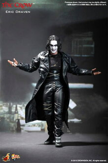 "HOTTOYS hot toys movie masterpiece ""Crow"" Eric Draven ☆ 1 / 6 scale fully poseable figure ★"