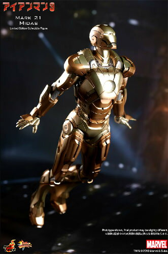 Iron Man hot toys movie masterpiece Iron Man 3 IRONMAN mark 21 (MIDAS) 1 / 6 scale fully poseable figure ☆ ★