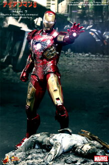 Iron Man hot toys movie masterpiece the Avengers' IRONMAN mark 7 (battle damage ver.) 1 / 6 scale fully poseable figure ☆ ★