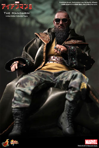 "Hot toys movie masterpiece ""eye 3, Amman"" Mandarin ☆ 1/6 scale figure skating★"