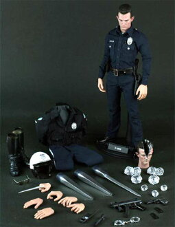 Hot toys movie masterpiece [Terminator 2] t-1000 1 / 6 scale figure