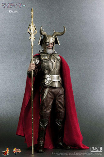 "Hot toys movie masterpiece ""マイティ so"" Odin 1/6 scale figure skating"
