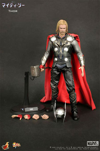 Hot toys movie masterpiece: Thor, Thor 1 / 6 scale fully poseable figure