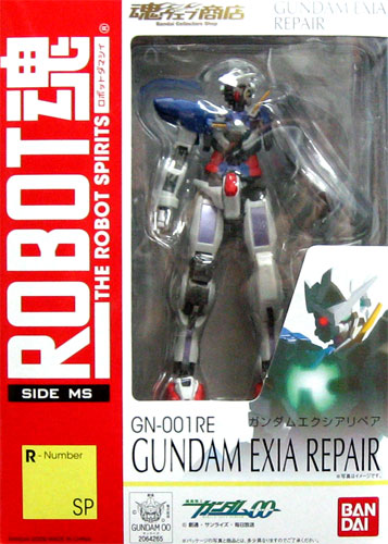 00 Bandai ROBOT soul [SIDE MS] Mobile Suit Gundam R-Number SP GN-001RE ガンダムエクシアリペア