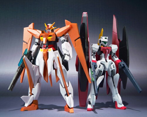 Bandai ROBOT spirit alioss Gundam & GN Archer (the arios set