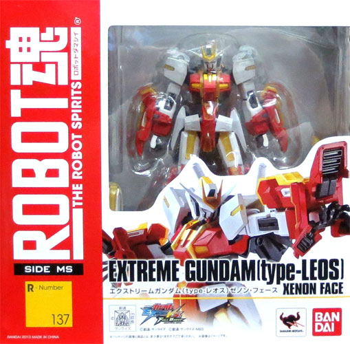 Bandai ROBOT soul [SIDE MS] extreme GUNDAM (type- Leos) Zenon force