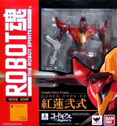 Bandai ROBOT spirit Code Geass Lelouch GUREN Nishiki