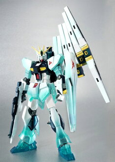 Bandai ROBOT spirit ν Gundam (psycho-frame movement Ver.)