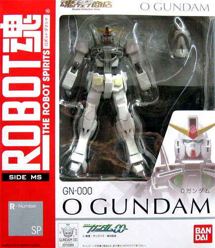 00 Bandai ROBOT soul [SIDE MS] Mobile Suit Gundam R-Number SP GN-000 O GUNDAM