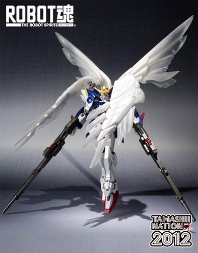 Bandai ROBOT spirit Gundam (EW) luster (PVC figure)