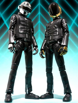 "Two Bandai S.H. Figuarts ""Daft Punk"" Thomas Bangalter & Guy-Manuel de Homem-Christo set H25.11"