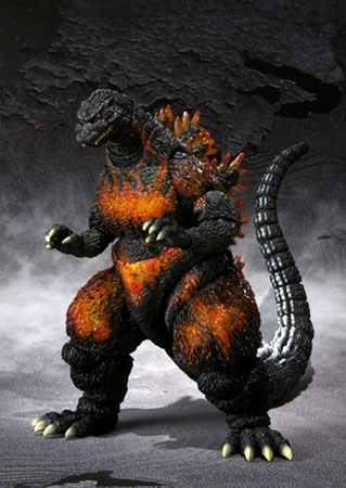 Bandai S.H. monster arts Godzilla 1995 (バーニングゴジラ)