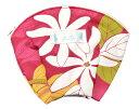 ショッピング携帯充電器 KuKui シェルポーチ 006 ハワイアン ファブリック 使用の かわいい シェル型 ポーチ!ネコポス対応商品 ハワイアン ポーチ フラダンス ハワイアン雑貨 綿入り 旅行 便利 小物入れ ピルケース