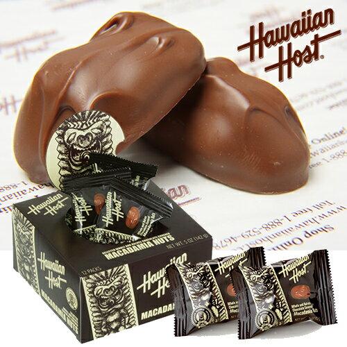 【ハワイアンホースト】ハワイアンホースト マカデミアナッツチョコレートTIKI 12粒 ハワイ お土産