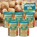 【ハワイアンホースト公式店】マウナロア ハニーローストマカデミアナッツ5缶セット|ハワイ お土産