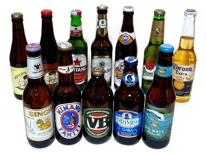 【送料無料】世界のビール飲み比べ12本セット vol1【smtb-td】【楽ギフ_包装】...:haya-saketen:10000519