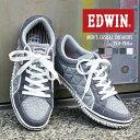 【送料無料】【EDWIN/エドウィン】 軽量 ローカットスニ...