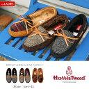 【送料無料】Harris Tweed ハリスツイード 王室 レディース 靴 モカシン シューズ ツ