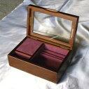 ♪お好きな曲で製作! 〔標準〕18弁木製宝石箱(2)オルゴール