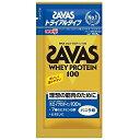 SAVAS(ザバス) ホエイプロテイン100 バニラ味 トライアル 【10.5g×6個】(明治)