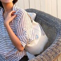 【ATAO】エナメルレザーのワンマイルバッグCandy(キャンディエナメル)夏のアイボリー