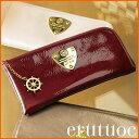 【ATAO】長財布とは思えない薄さくったり柔らかいエナメルレザーのロングウォレット L