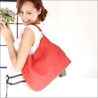 【ロベルタ】マドンナも魅了したRの離れられなくなるバッグLene(レーネ)季節限定色CoralPink(コーラルピンク)