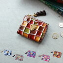【ATAO】waltz(ワルツ)メインウォレットとして使えるヴィトロシリーズのコンパクト財布(ミニ財布)三つ折り財布 355-1121