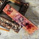 【FRUTTI】絵画のようなレザーで仕立てるペンケースMatita Alice(マティータ アリス) 筆箱 ステーショナリー ピンク エナメル 花柄