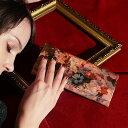 【FRUTTI】ここでしか出会えない限定レザーで仕立てる長財布ALBA Alice(アルバアリス)春財布に!ピンク エナメル 花柄 ハラコ フルッティ ディ ボスコ FRUTTI DI BOSCO