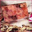 【FRUTTI】絵画のようなレザーで仕立てる名刺ケースJolly Alice(ジョリー アリス)名刺入れ 名刺ケース レディース ピンク エナメル