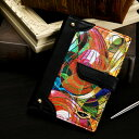 【FRUTTI】蝶が集めた「にじいろ」レザーのシステム手帳Libro Arcobaleno(リブロ アルコバレーノ)ミニ6穴サイズ
