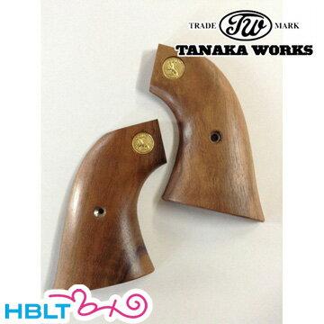 【ポスト投函商品】【タナカワークス(Tanaka)】木製グリップ Colt SAA.45(2nd Gen.) 用(ウォールナット メダル入)/田中ワークス/ピースメーカー/S.A.A/ウエスタン/Western/開拓時代/西部劇/Peace Maker/シングル・アクション・アーミー