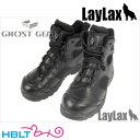 【LayLax(GhostGear)】タクティカルアサルトブーツBK/Black