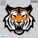 【MSM(ミルスペックモンキー)】パッチ Tiger Head(刺繍)/MIL-SPEC MONKEY/ベルクロ/パッチ/ワッペン/タイガー/虎/サバゲ/装備