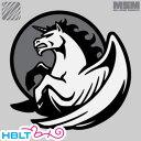 パッチ MSM ミルスペックモンキー Pegasus Unicorn(刺繍) /ベルクロ パッチ ワッペン ミリタリー ペガサス ユニコーン サバゲ 装備 MIL-SPEC MONKEY サバゲー